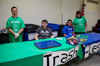UAHS students making a difference through Trash Less Thursdays initiative