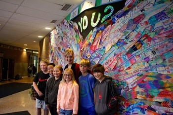 'Windermere Wings' art project reflects individuality, school community