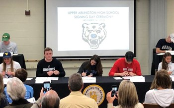 14 UAHS student-athletes participate in National Signing Day