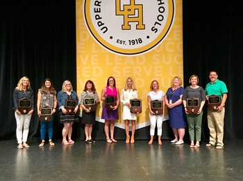 UA Schools teachers, staff honored for excellence, service