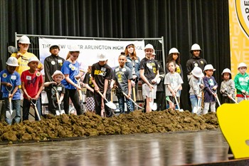 Community comes together at groundbreaking for new UAHS