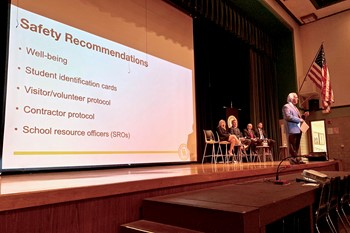 Superintendent's Notes: Safety town hall, elementary groundbreakings