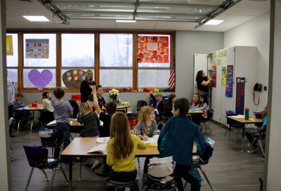 A renovated classroom at Tremont
