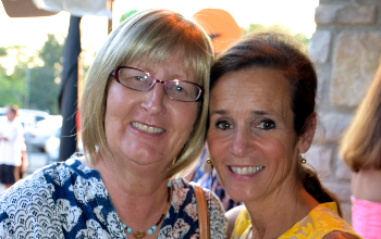 Robin Comfort and Joanie Dugger