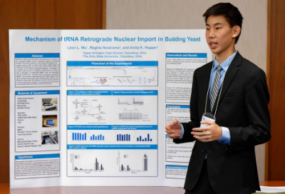 UAHS student gains national, international recognition for scientific research