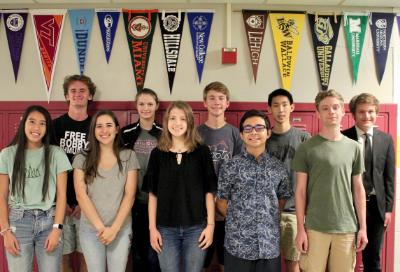 10 UAHS seniors recognized as National Merit Semifinalists