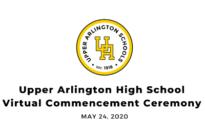 Upper Arlington Schools honors Class of 2020 in virtual ceremony