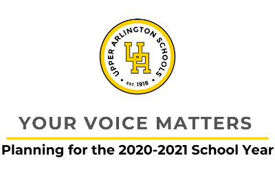 May 19, 2020 update - Your Voice Matters feedback and planning process