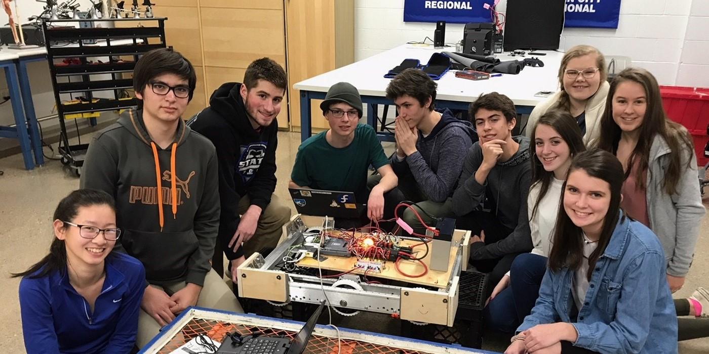 The FIRST Robotics team