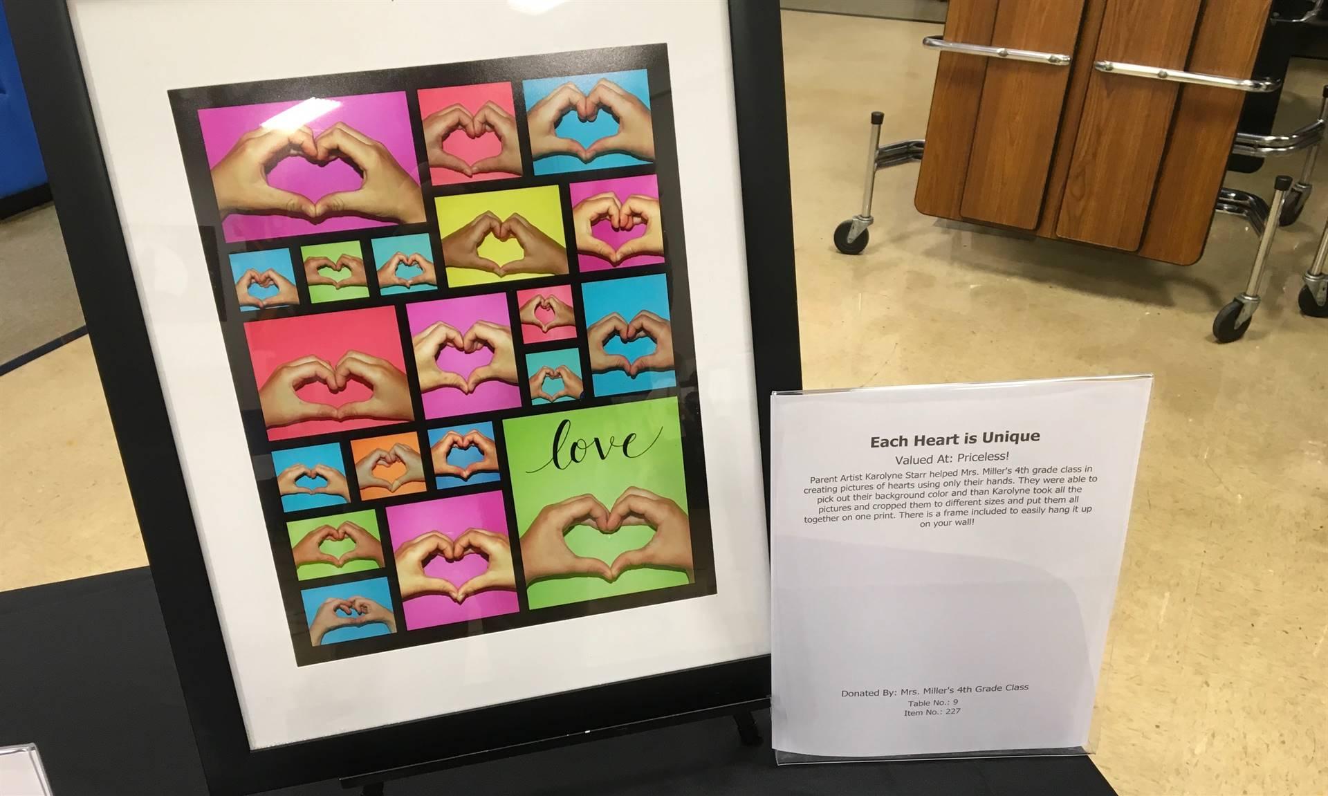Informal Affair Art Project: Each Heart is Unique