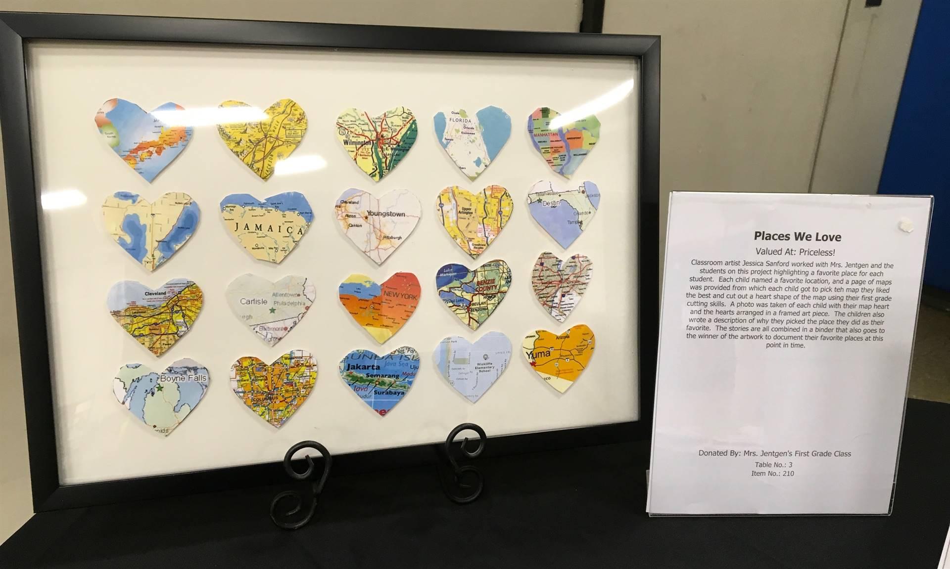 Informal Affair Art Project: Places We Love