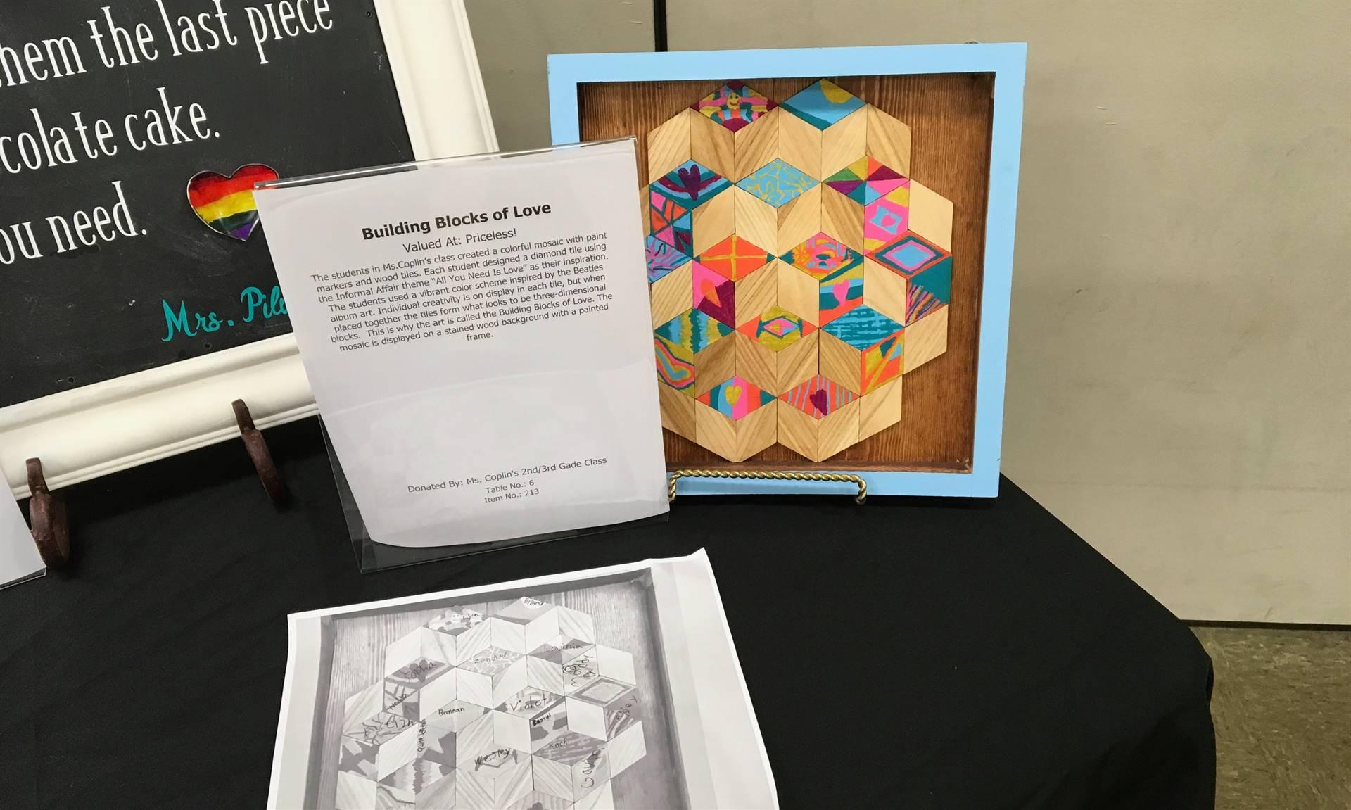 Informal Affair Art Project: Building Blocks of Love