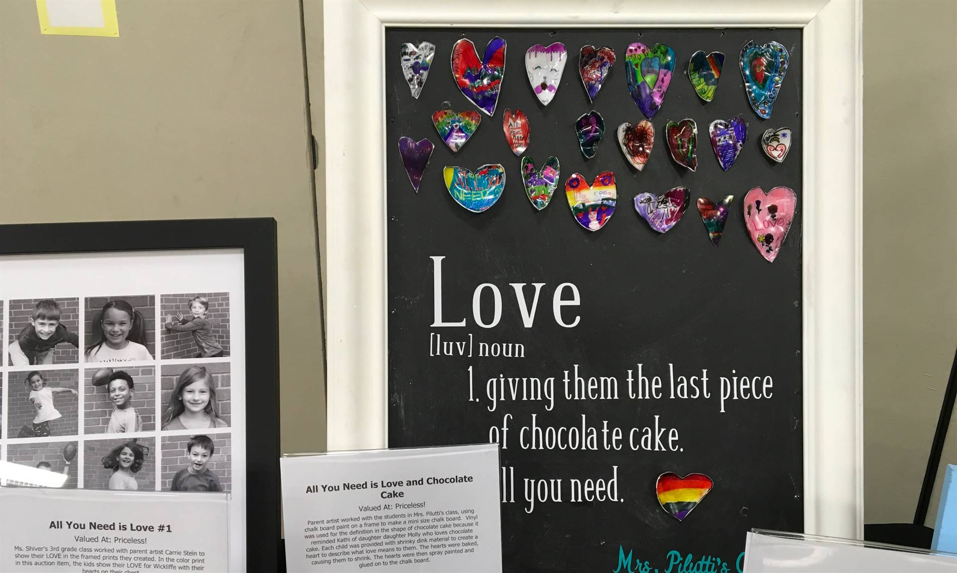 Informal Affair Art Project: Love and Chocolate Cake