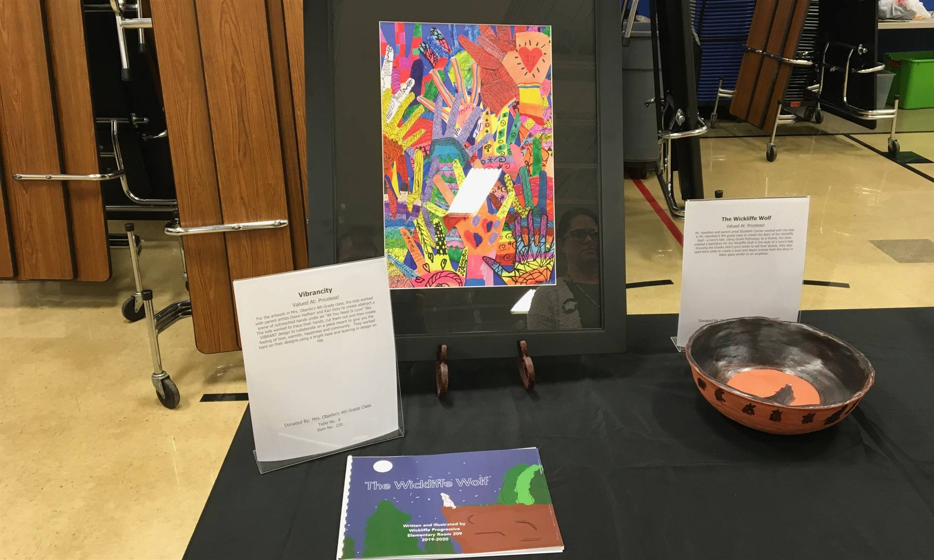 Informal Affair Art Project: Vibrancity and Wickliffe Wolf Book