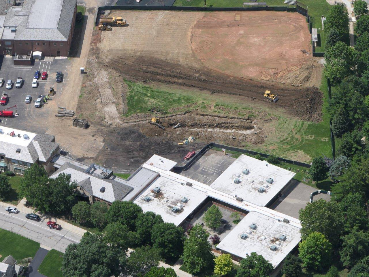 Aerial of Barrington site