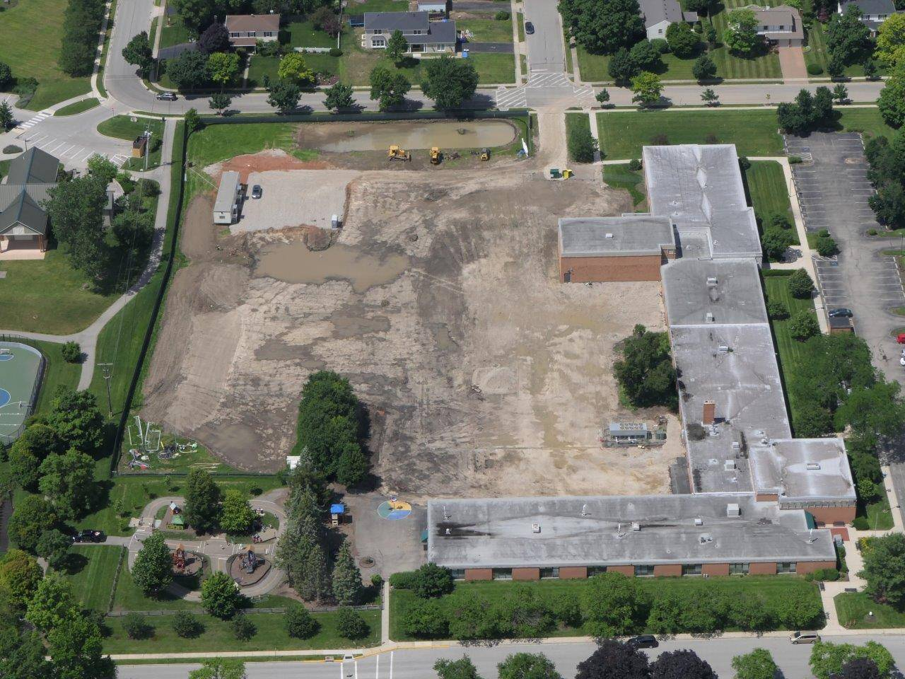 Aerial of Greensview site
