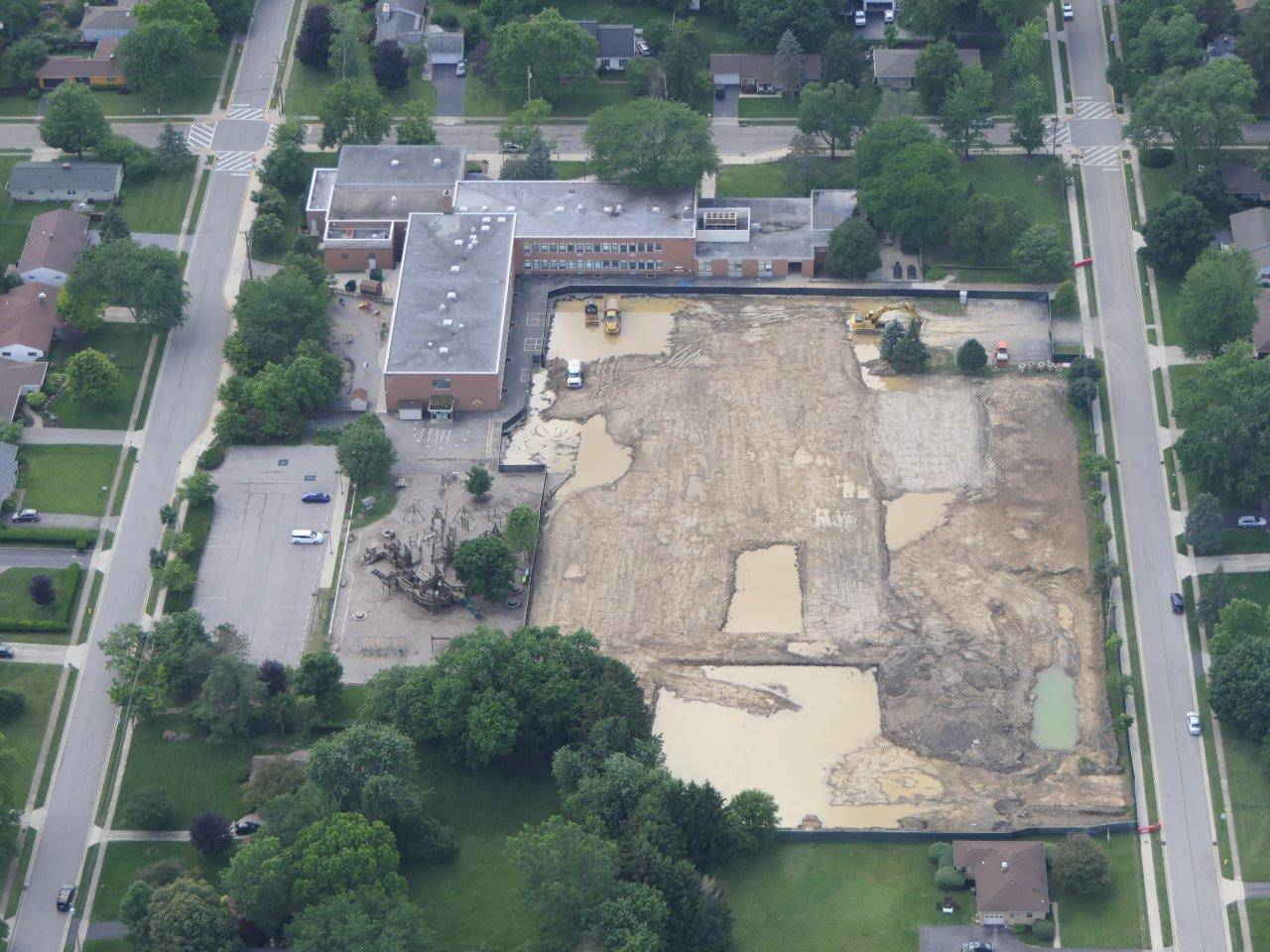 Aerial of Wickliffe site