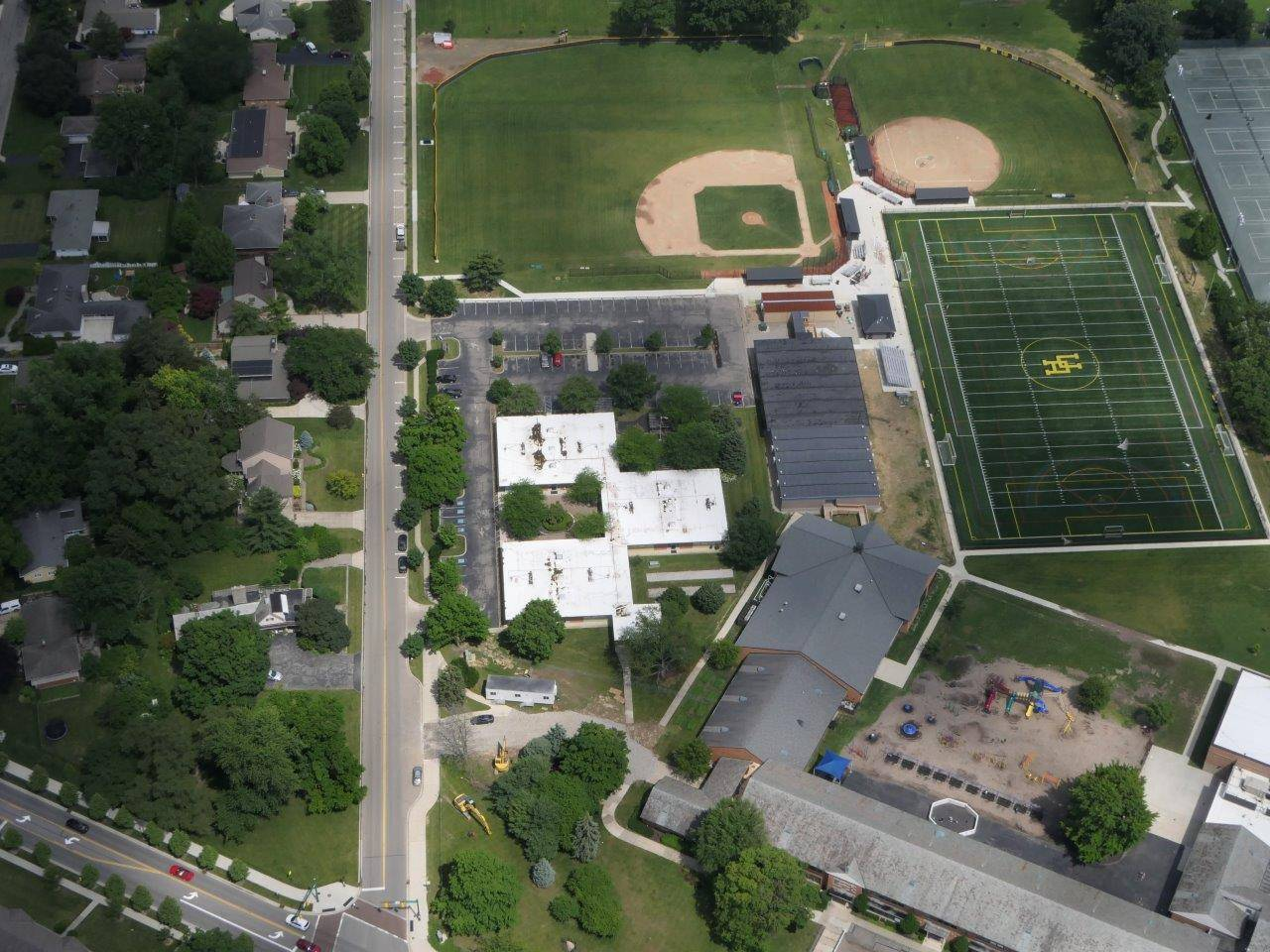Aerial of Tremont