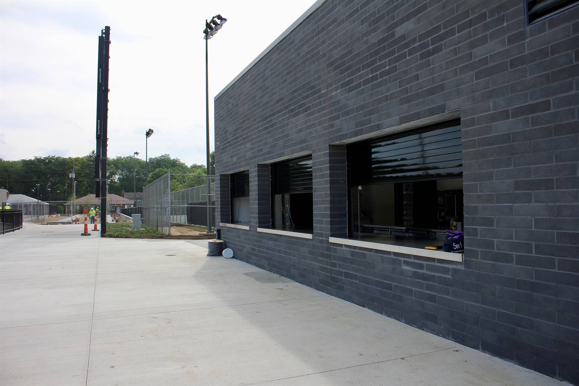 Home concession stand