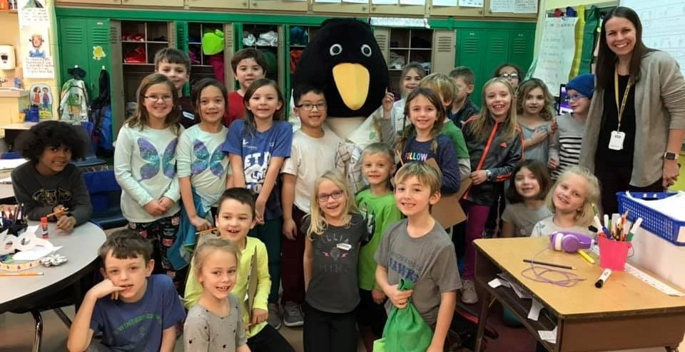 Tacky the Penguin visit