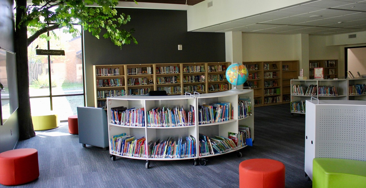 The new media center
