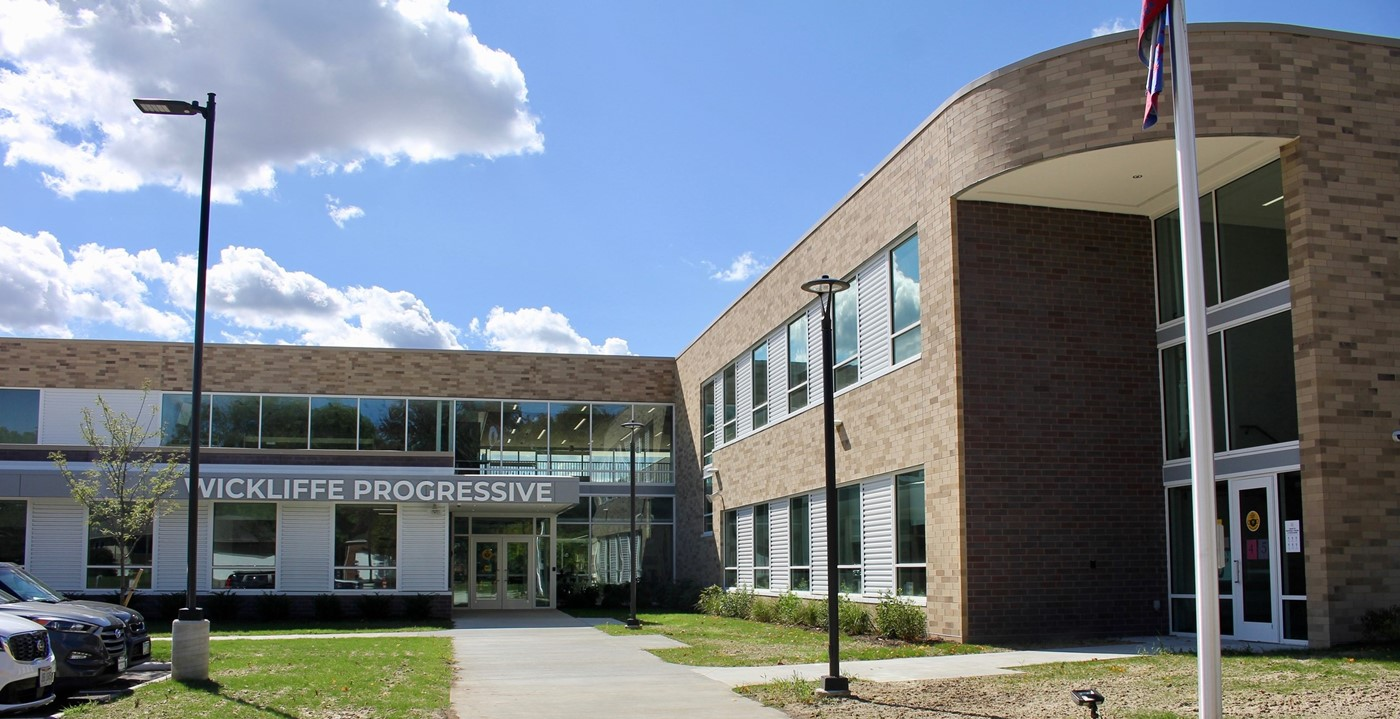 An exterior of the new Wickliffe