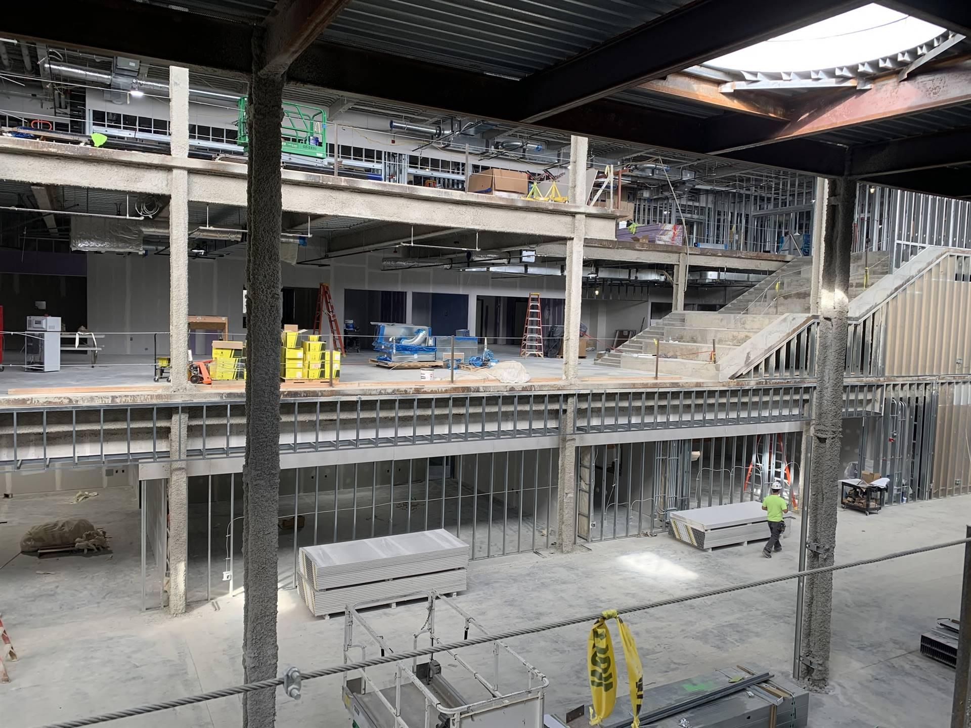 Inside the new Upper Arlington High School