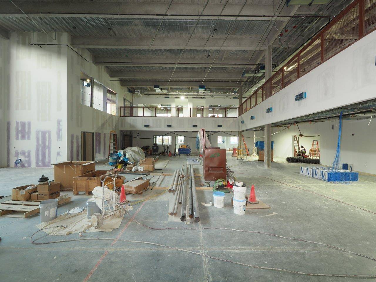 A learning commons inside the new high school