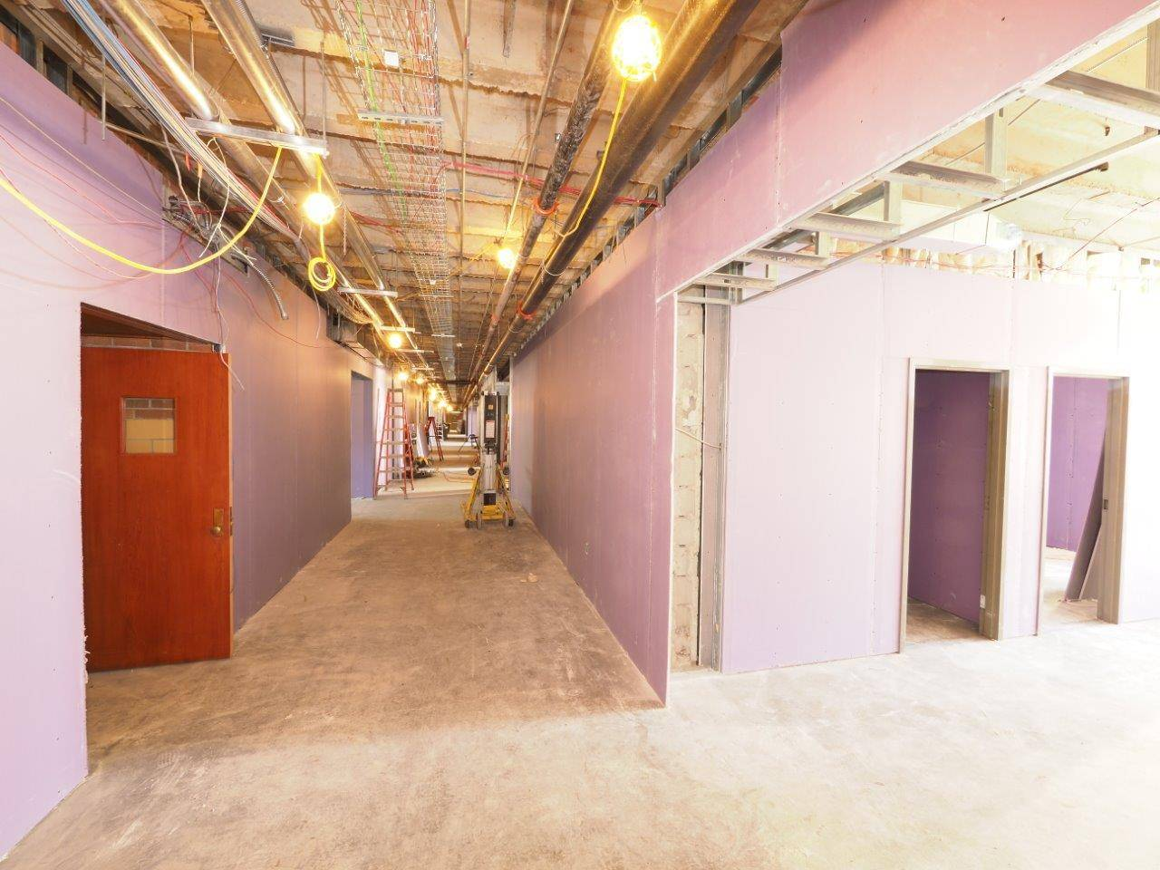Inside the Tremont Elementary School renovation project