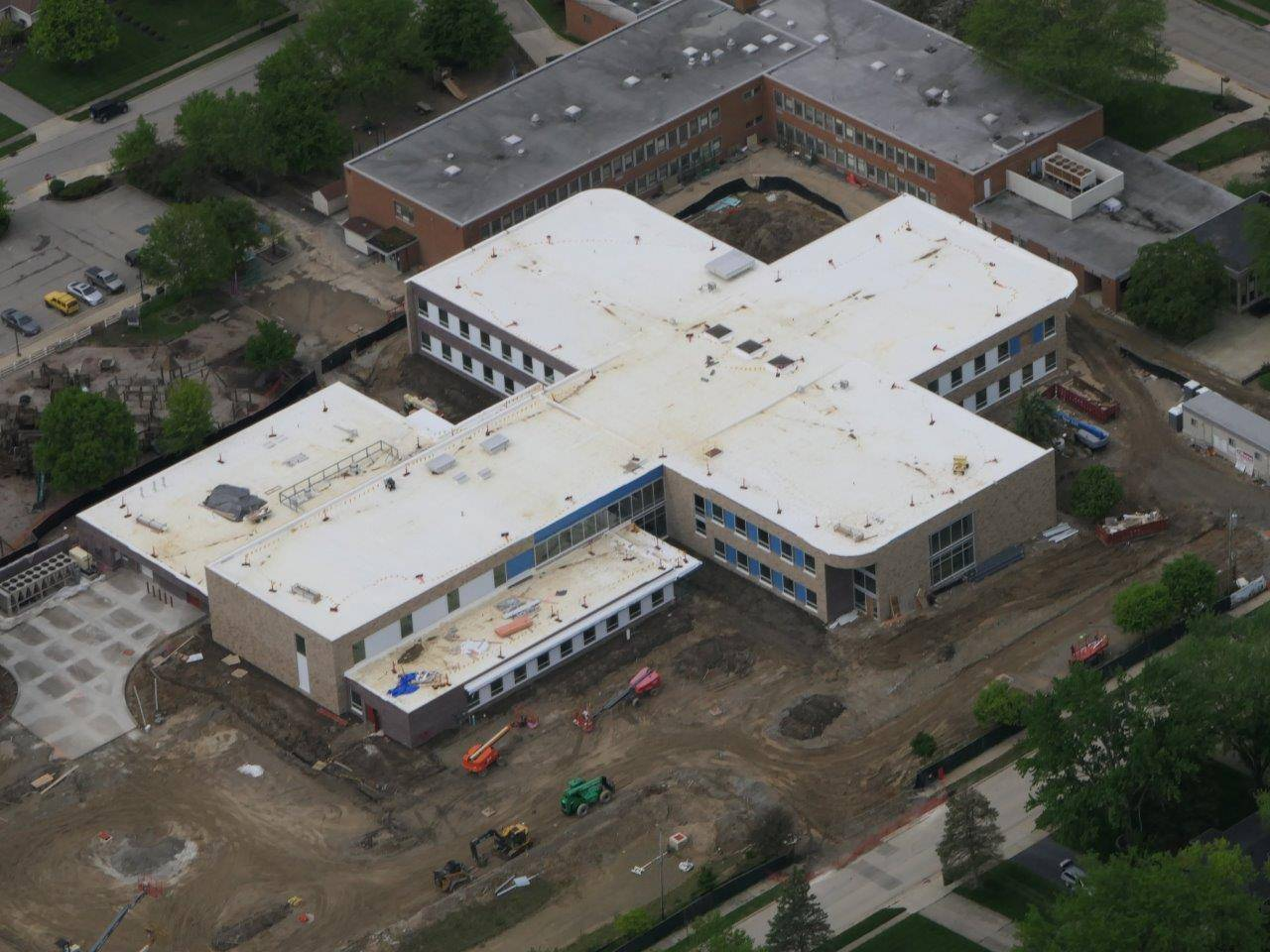 An aerial of the new Wickliffe