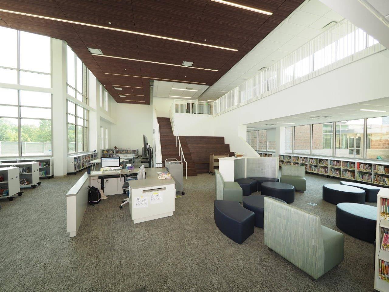 The new media center