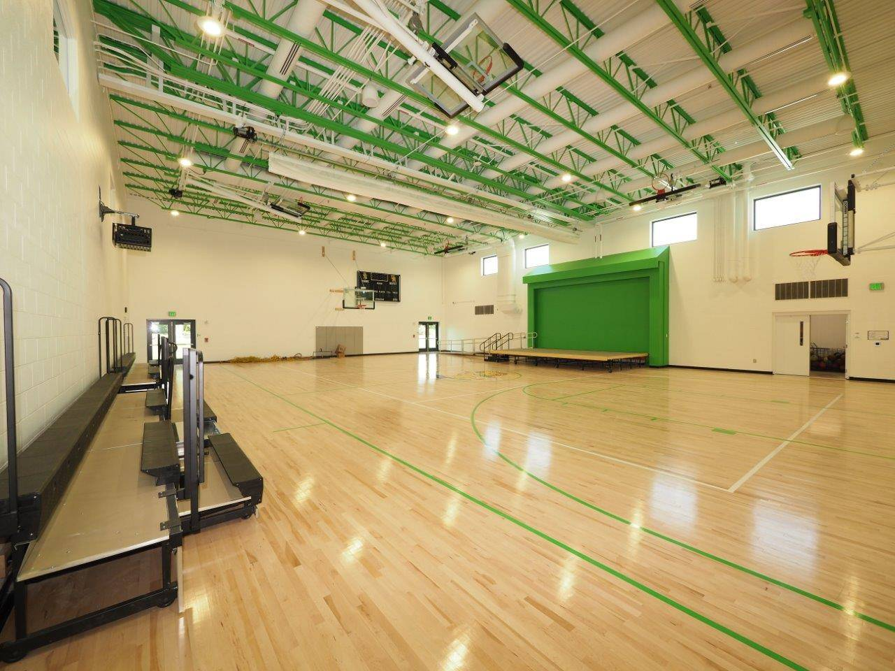 The new gymnasium