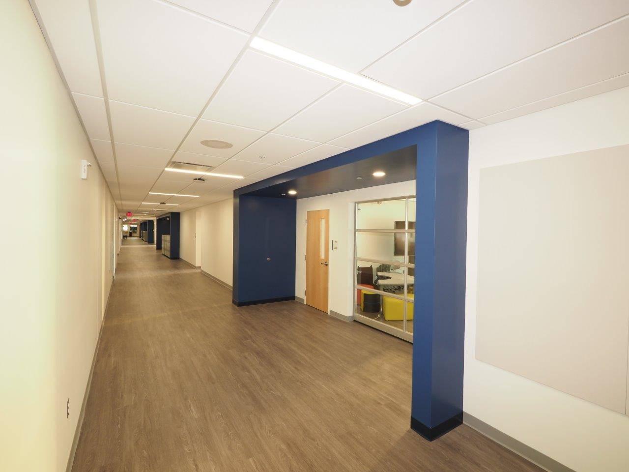 The main hallway