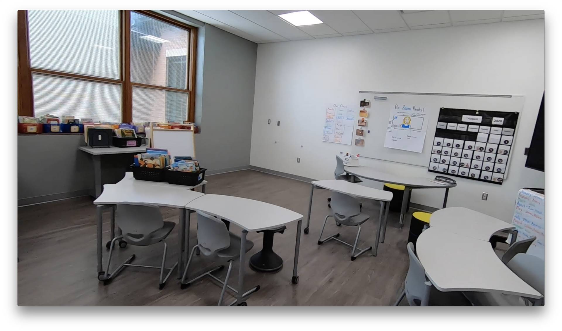 A renovated classroom