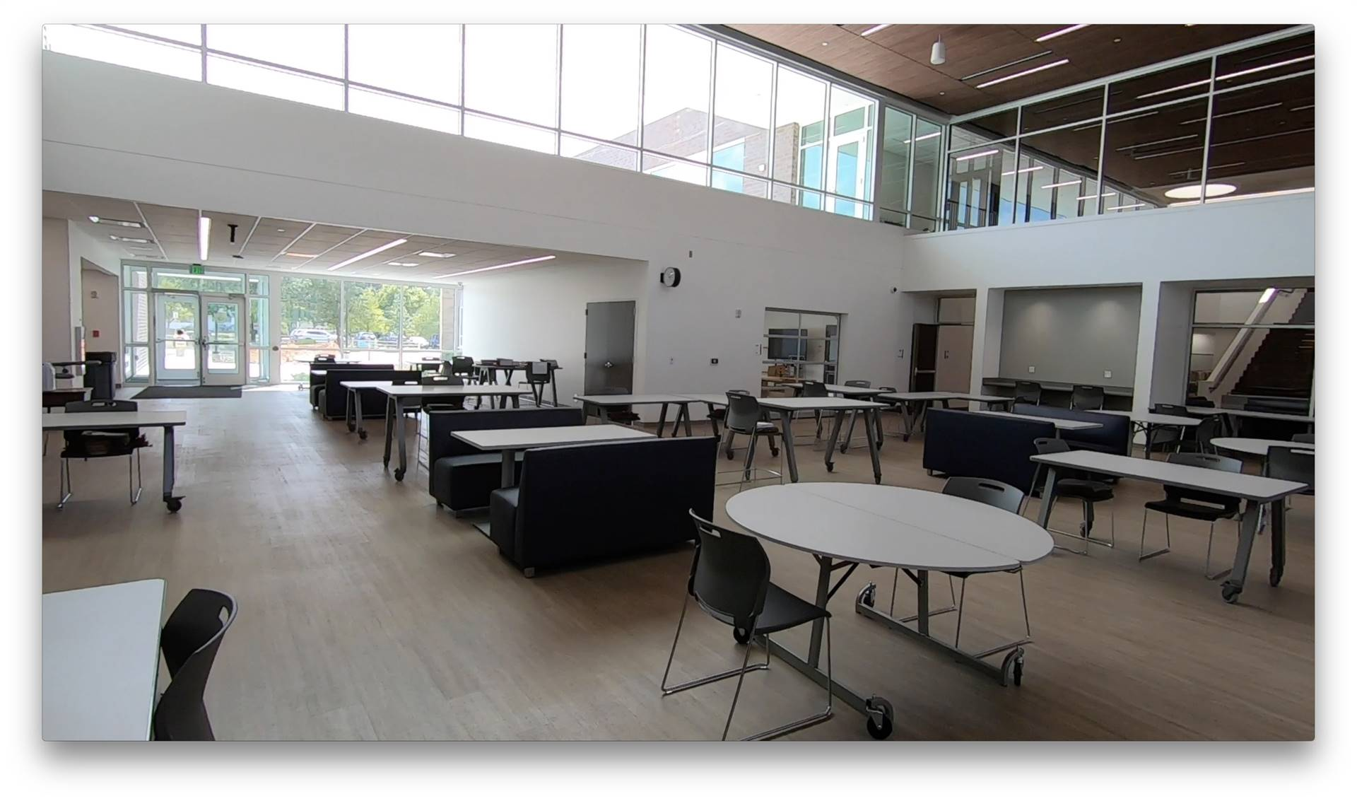 The dining commons