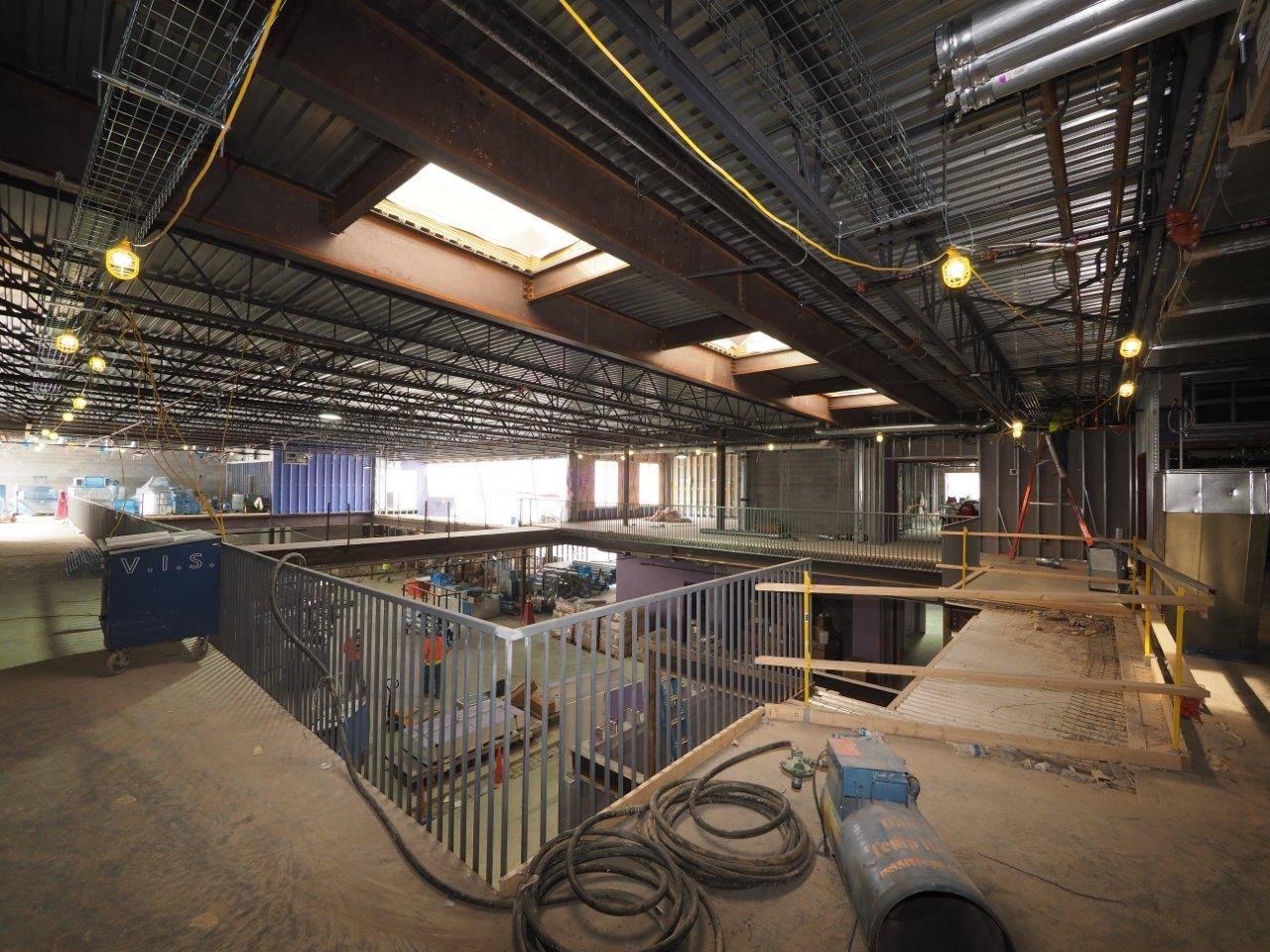 Inside the new Windermere Elementary School