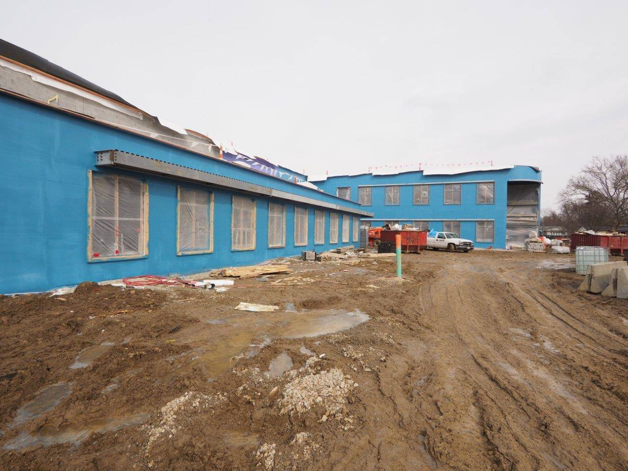 An exterior view of the new Windermere Elementary School