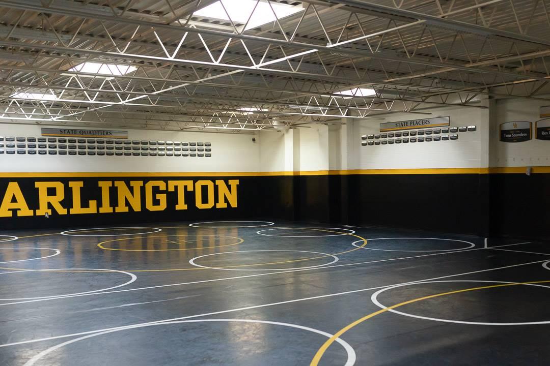 Tom Saunders Wrestling Room