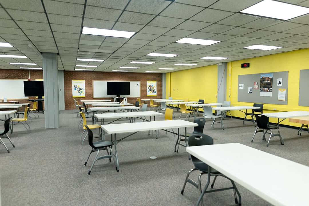 Second floor of the learning center