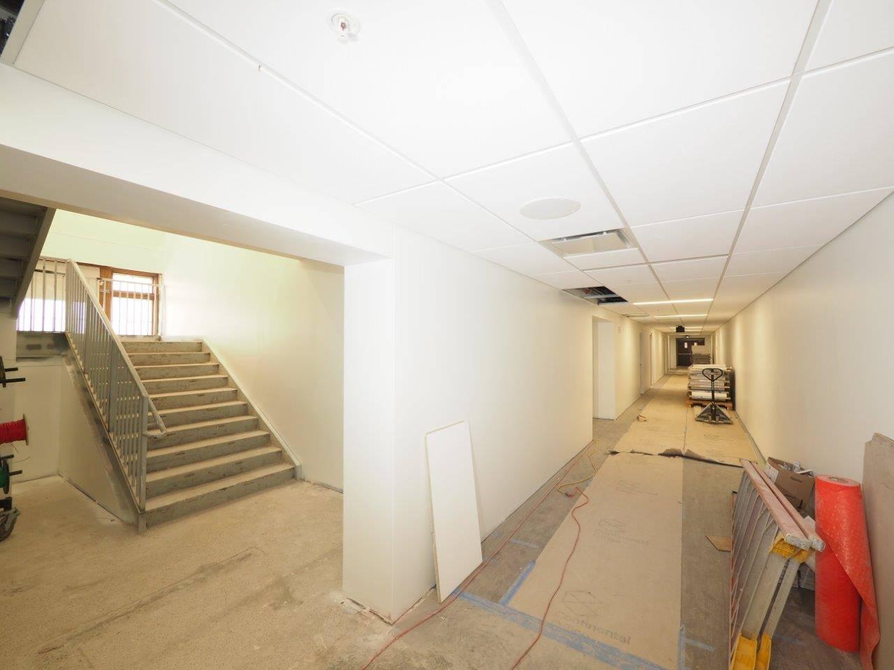 Inside the Barrington Elementary School renovation project