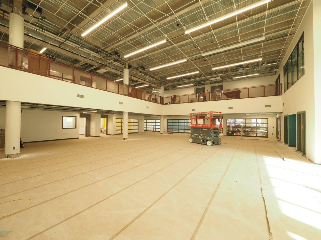 Academic commons in the new Upper Arlington High School