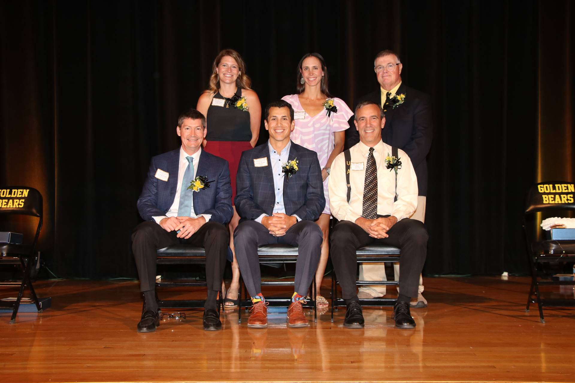 Six members of the 2021 induction class